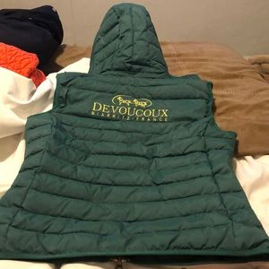 Brand new never worn Devoucoux vest